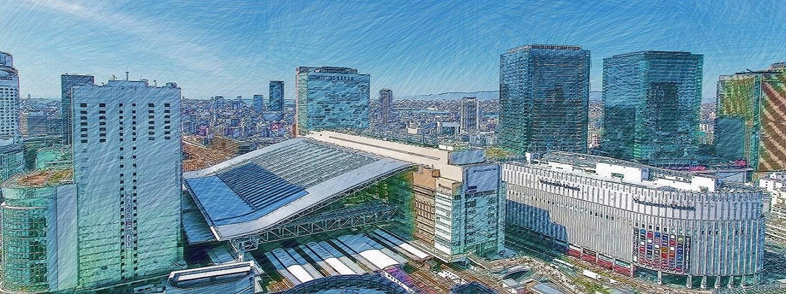 トップページ大阪駅前